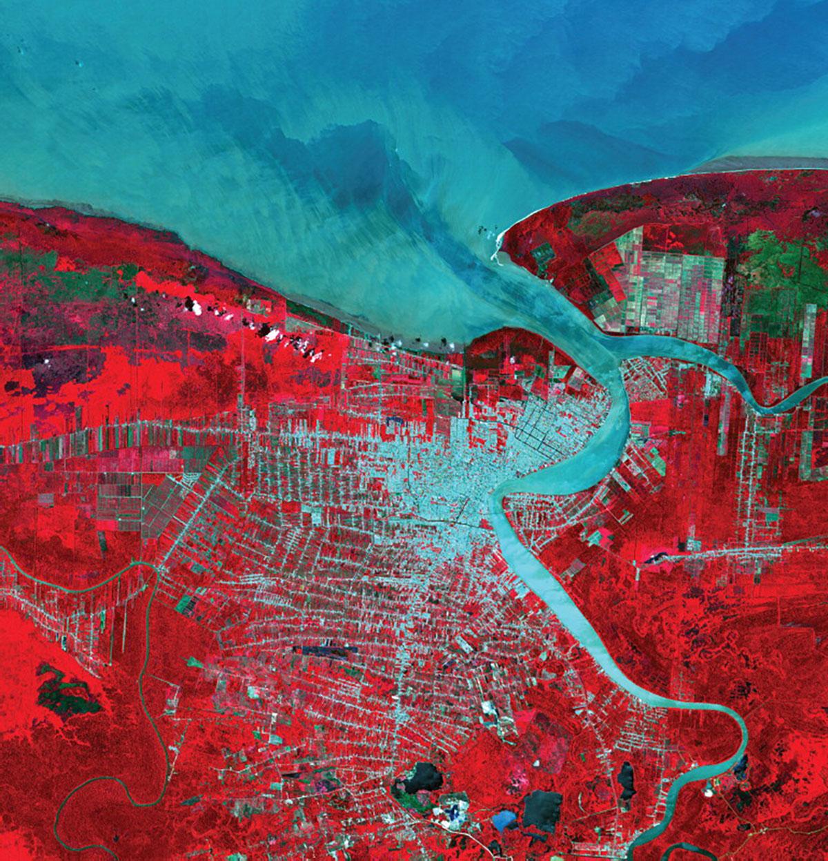 Principles for Minimizing Global Land Impacts of Urbanization