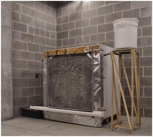 Building Integrated Evaporative Cooling Utilizing Pervious Concrete